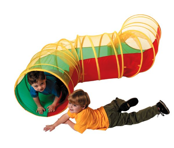 Zig a Zag Children's Kids Pop Up Play Long Tunnel